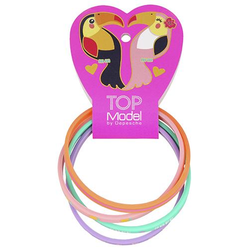 Náramky Top Model ASST BFF, růžový, fialový, zelený, oranžový