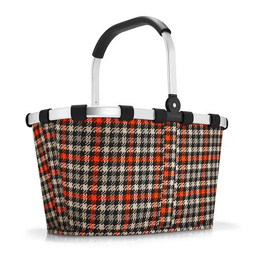 Nákupní košík Reisenthel Černo-červený s motivem padesátek | carrybag