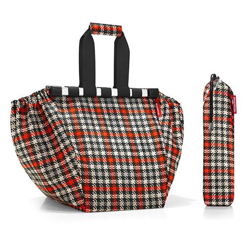 Nákupní taška Reisenthel Černo-červená s motivem padesátek | easyshoppingbag