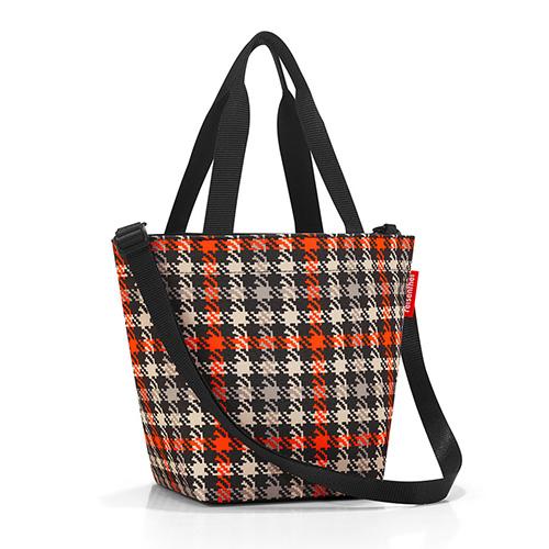 Nákupní taška Reisenthel Černo-červená s motivem padesátek | shopper XS