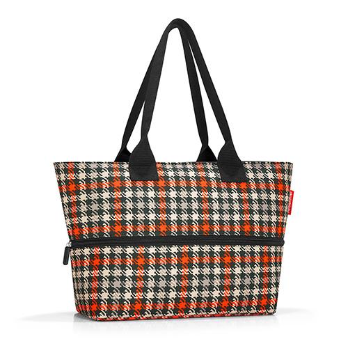 Nákupní taška Reisenthel Černo-červená s motivem padesátek | shopper e1