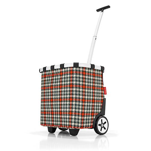 Nákupní vozík Reisenthel Černo-červený s motivem padesátek   carrycruiser
