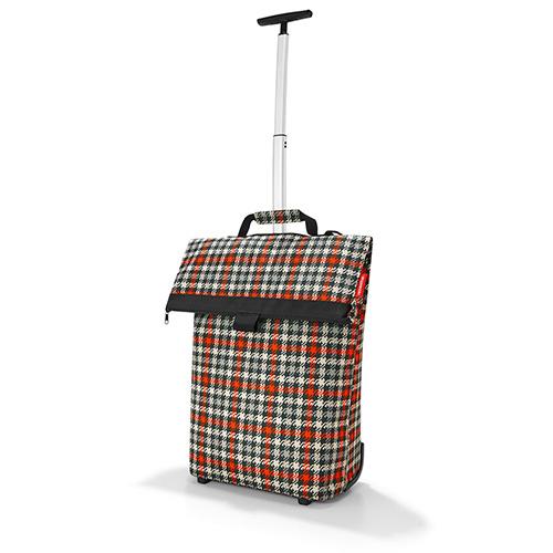 Nákupní taška Reisenthel Černo-červená s motivem padesátek   Trolley M
