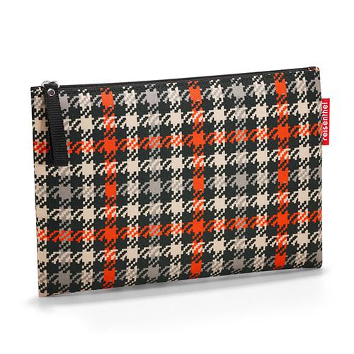 Kosmetická taška Reisenthel Černo-červená s motivem padesátek | case 1