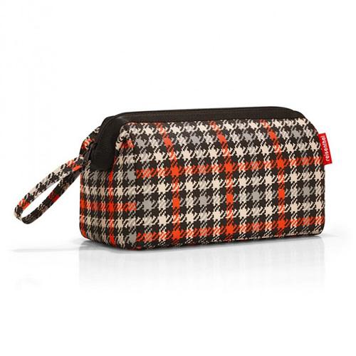 Kosmetická taška Reisenthel Černo-červená s motivem padesátek | travelcosmetic
