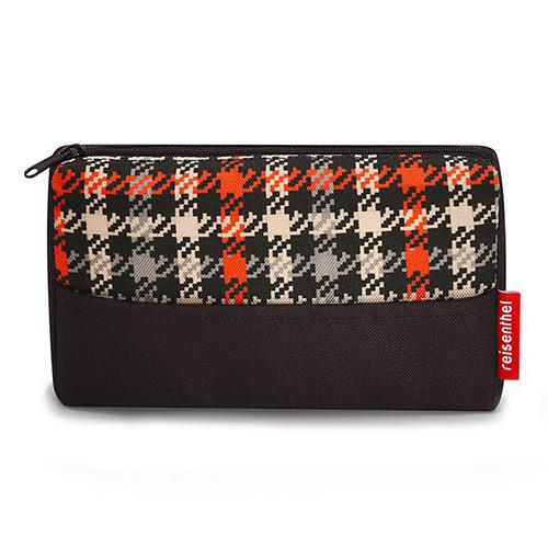 Kosmetická taška Reisenthel Černo-červená s motivem padesátek | pocketcase