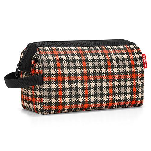 Kosmetická taška Reisenthel Černo-červená s motivem padesátek | travelcosmetic XL
