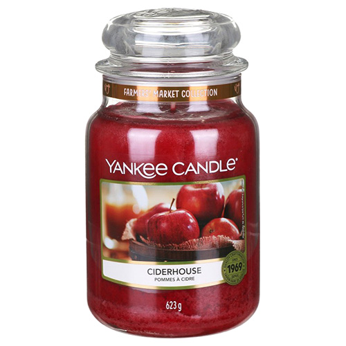 Svíčka ve skleněné dóze Yankee Candle Moštárna, 623 g