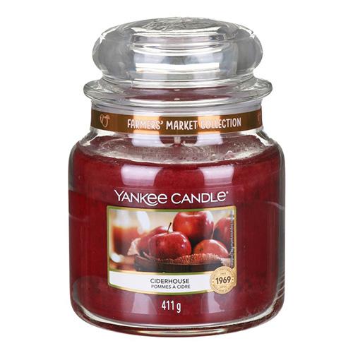 Svíčka ve skleněné dóze Yankee Candle Moštárna, 410 g