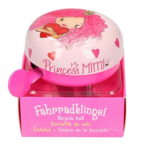 Zvonek na kolo Princess Mimi ASST Princezna, světle růžový