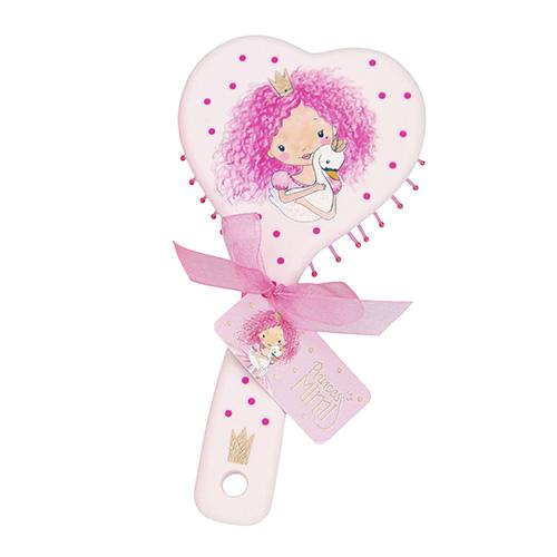 Hřeben Princess Mimi ASST Světle růžový, ve tvaru srdce