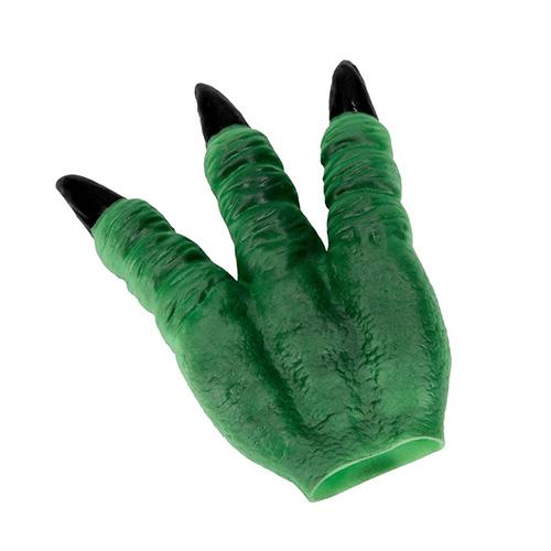 Maska na ruku Dino World ASST Zelená, silikonová