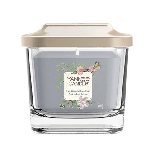 Svíčka ve skleněné váze Yankee Candle Louka prohřátá sluncem, 96 g
