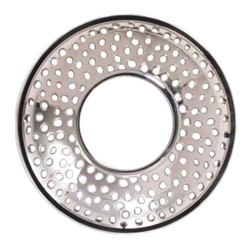 Yankee candle Ozdobný prstenec Kensington Silver Metal na vonnou svíčku ve