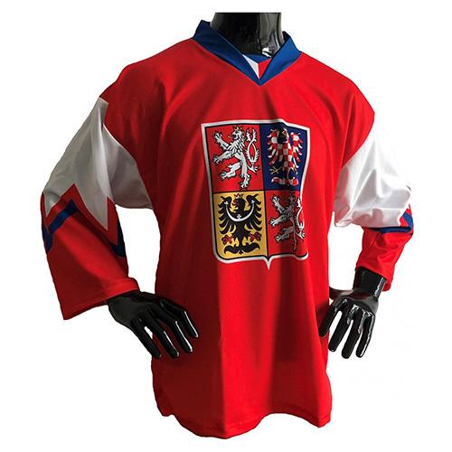 Hokejový dres Jersey53 Česko | Červená | M