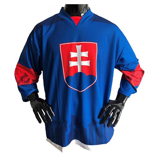 Hokejový dres Jersey53 Slovensko | Modrá | XL