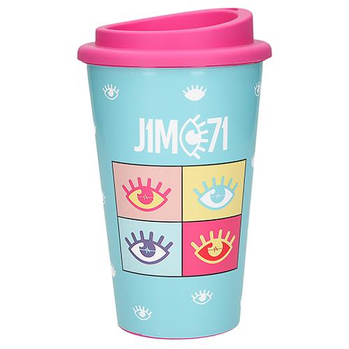 Pohár na pití J1MO71 ASST Modrý, 350 ml