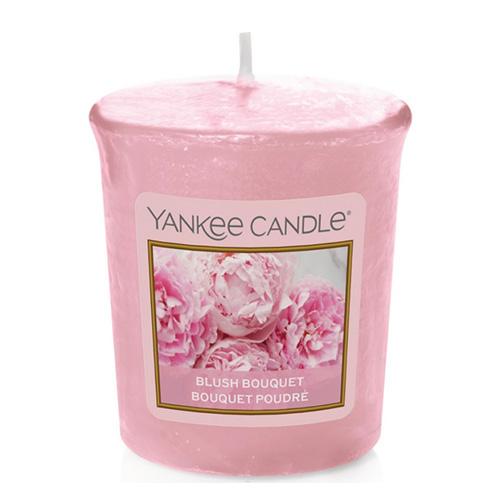 Svíčka Yankee Candle Růžová kytice, 49 g