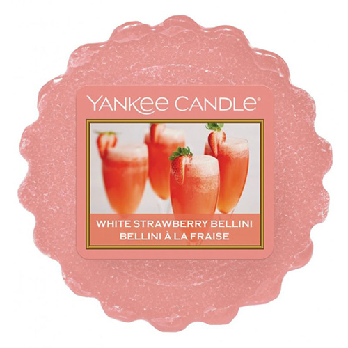 Vonný vosk Yankee Candle Jahodové Bellini, 22 g