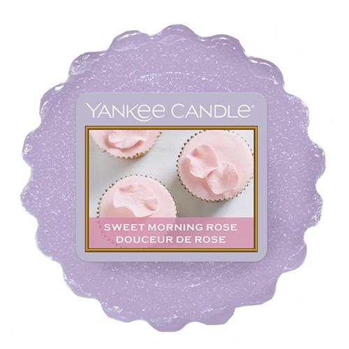Vonný vosk Yankee Candle Sladká ranní růže, 22 g