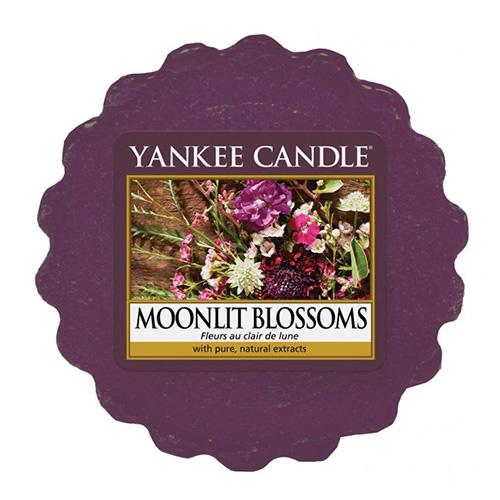 Vonný vosk Yankee Candle Květiny ve svitu měsíce, 22 g