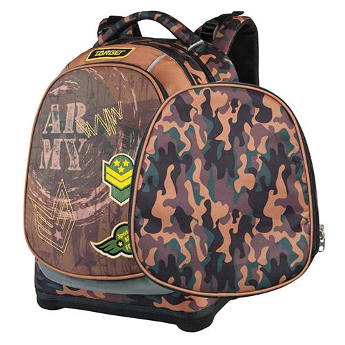 Školní batoh Target Army, maskáčový