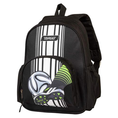 Batůžek Target Fotbal, černo-bílý