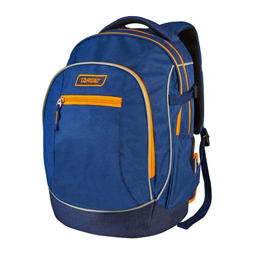 Studentský batoh Target Oranžovo-modrý