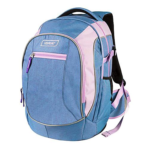 Studentský batoh Target Růžovo-modrý