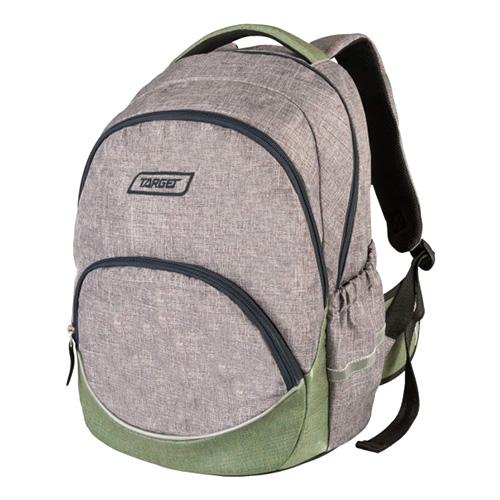 Studentský batoh Target Světle šedý
