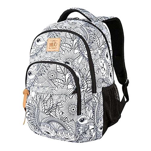 Školní batoh Target Bílý se vzorem mandaly