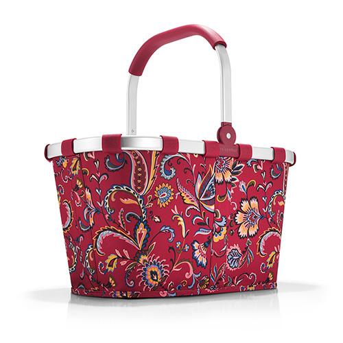 Nákupní košík Reisenthel Paisley rubínový | carrybag