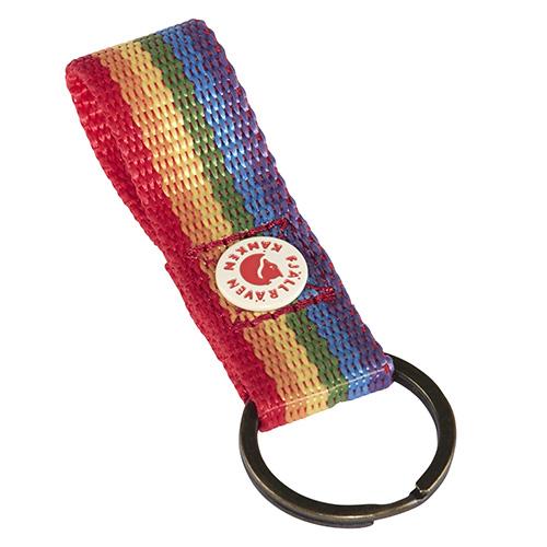Fjällräven Kanken Rainbow Keyring Rainbow Pattern | 907 | One size