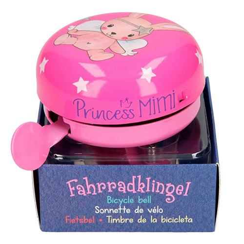Zvonek na kolo Princess Mimi ASST Zajíček, tmavě růžový
