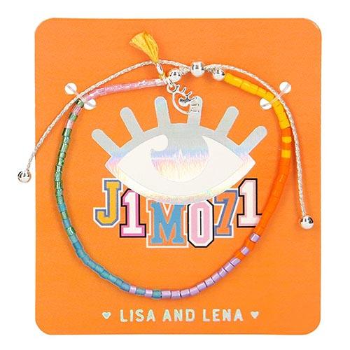 Náramek J1MO71 ASST 1 ks, oranžové balení