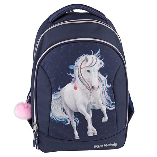 Školní batoh Miss Melody Miss Melody, tmavě modrý