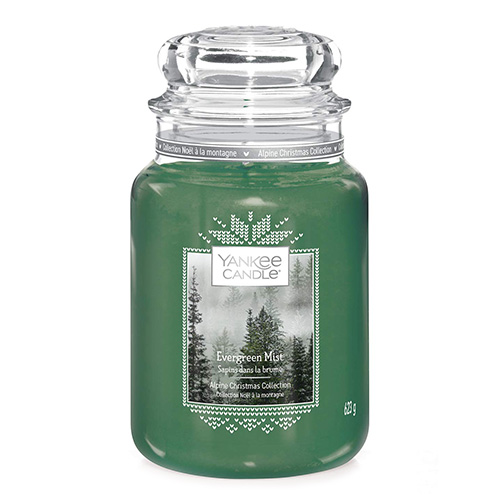 Svíčka ve skleněné dóze Yankee Candle Lesní mlha, 623 g