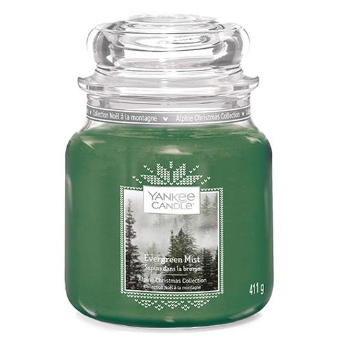 Svíčka ve skleněné dóze Yankee Candle Lesní mlha, 410 g