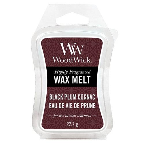 Vonný vosk WoodWick Koňak z černých švestek, 22.7 g