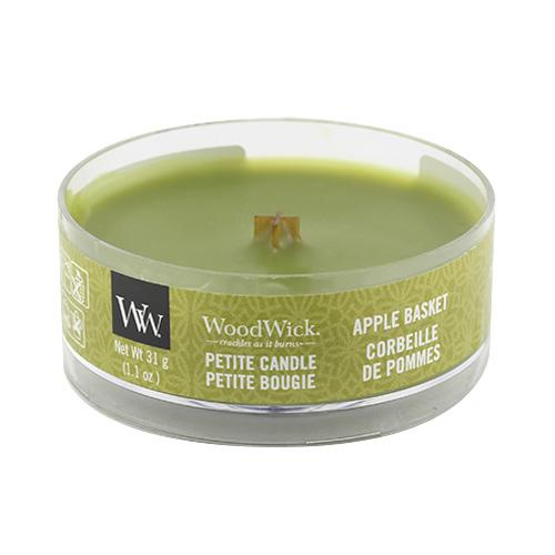 Drobná svíčka WoodWick Košík jablek, 31 g