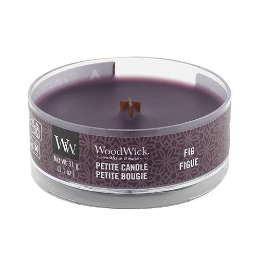 Drobná svíčka WoodWick Fík, 31 g