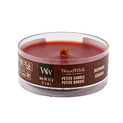 Drobná svíčka WoodWick Santalové dřevo, 31 g