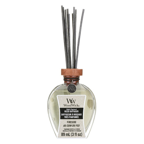 Aroma difuzér WoodWick Oheň v krbu, 89 ml