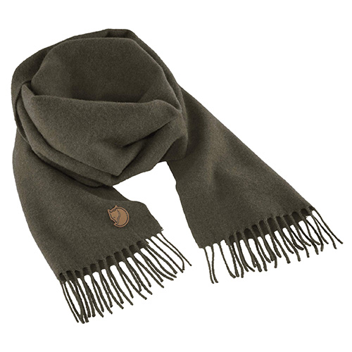 Fjällräven Solid Re-Wool Scarf Deep Forest | 662 | One size