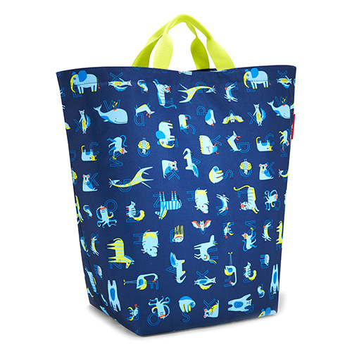 Úložný vak Reisenthel Zvířátka, modrý | storagesac kids
