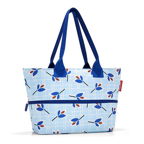 Nákupní taška Reisenthel Modré listy | shopper e1