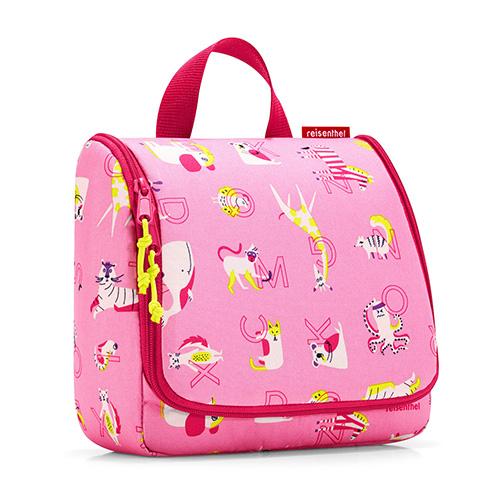 Cestovní toaletní taška Reisenthel Zvířátka, růžová | toiletbag kids