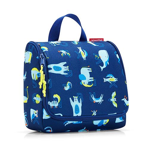 Cestovní toaletní taška Reisenthel Zvířátka, modrá | toiletbag kids