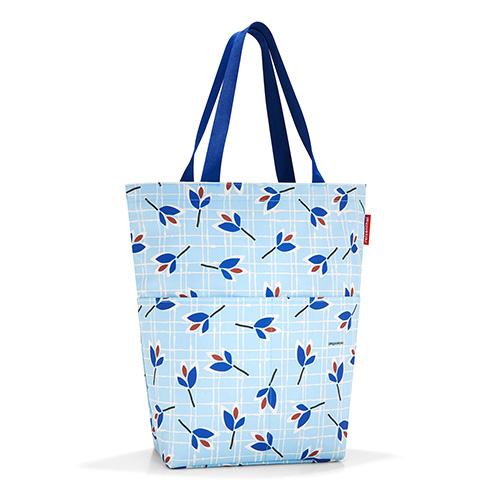Nákupní taška Reisenthel Modré listy | cityshopper 2