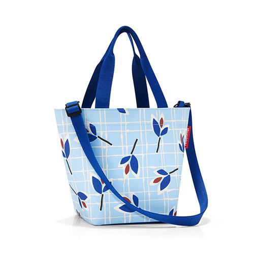 Nákupní taška Reisenthel Modré listy | shopper XS